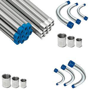 Linha de Eletrodutos Galvanizados